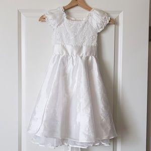 Girls wedding or baptism dress